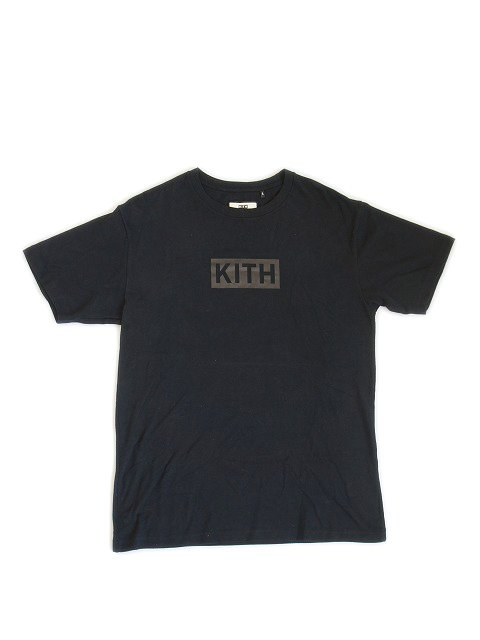 KITH NYC/BOX LOGO TEE BLACK