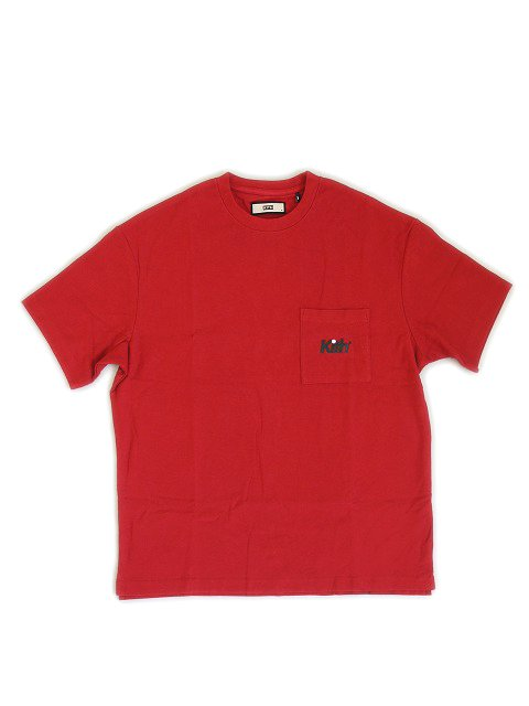 KITH NYC/QUINN POCKET TEE RED