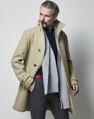 junhashimoto2018AW/STAND COLLAR COAT(BEIGE)<img class='new_mark_img2' src='https://img.shop-pro.jp/img/new/icons1.gif' style='border:none;display:inline;margin:0px;padding:0px;width:auto;' />