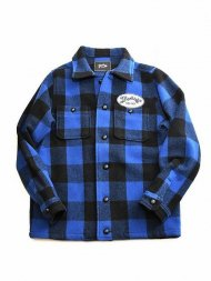 MARBLES/BUFFALO CHECK JACKET(BLUE)<img class='new_mark_img2' src='https://img.shop-pro.jp/img/new/icons1.gif' style='border:none;display:inline;margin:0px;padding:0px;width:auto;' />