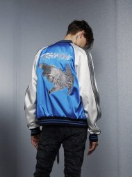 FORSOMEONE2019SS/EAGLE SKA JKT(BLUE)<img class='new_mark_img2' src='https://img.shop-pro.jp/img/new/icons24.gif' style='border:none;display:inline;margin:0px;padding:0px;width:auto;' />