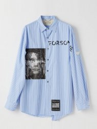FORSOMEONE2019SS/AK STRIPE SHIRT(BLUE)<img class='new_mark_img2' src='https://img.shop-pro.jp/img/new/icons50.gif' style='border:none;display:inline;margin:0px;padding:0px;width:auto;' />