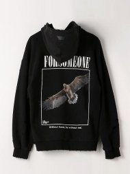 FORSOMEONE/DAMEGE EAGLE HOODIE<img class='new_mark_img2' src='https://img.shop-pro.jp/img/new/icons1.gif' style='border:none;display:inline;margin:0px;padding:0px;width:auto;' />