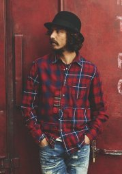 TMT2019AW/INDIGO CHECK PANEL SHIRTS(RED)<img class='new_mark_img2' src='https://img.shop-pro.jp/img/new/icons1.gif' style='border:none;display:inline;margin:0px;padding:0px;width:auto;' />