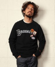 (予約)TMT2019AW/VINTAGE FRENCH TERRY PULLOVER(BROOKLYN)(BLACK)期日:5/26 19時まで<img class='new_mark_img2' src='https://img.shop-pro.jp/img/new/icons1.gif' style='border:none;display:inline;margin:0px;padding:0px;width:auto;' />