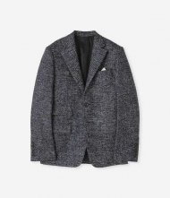 junhashimoto2019AW/CLASSIC 2B JACKET-CERRUTI JACQUARD-(NAVY)<img class='new_mark_img2' src='https://img.shop-pro.jp/img/new/icons1.gif' style='border:none;display:inline;margin:0px;padding:0px;width:auto;' />