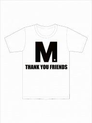 (予約)M/crew neck t-shirts (M THANK YOU FRIENDS)(white)期日:8/18 19時まで<img class='new_mark_img2' src='https://img.shop-pro.jp/img/new/icons1.gif' style='border:none;display:inline;margin:0px;padding:0px;width:auto;' />