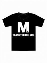 (予約)M/crew neck t-shirts (M THANK YOU FRIENDS)(black)期日:8/18 19時まで<img class='new_mark_img2' src='https://img.shop-pro.jp/img/new/icons1.gif' style='border:none;display:inline;margin:0px;padding:0px;width:auto;' />