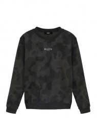 BLVCK PARIS/EXCLUSIVE CAMO SWEATER<img class='new_mark_img2' src='https://img.shop-pro.jp/img/new/icons1.gif' style='border:none;display:inline;margin:0px;padding:0px;width:auto;' />