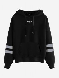 BLVCK PARIS/Blvck Stripe Hoodie<img class='new_mark_img2' src='https://img.shop-pro.jp/img/new/icons1.gif' style='border:none;display:inline;margin:0px;padding:0px;width:auto;' />