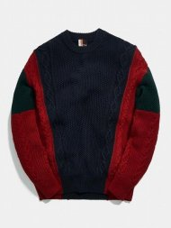KITH NYC/KITH RYAN CABLE KNIT SWEATER<img class='new_mark_img2' src='https://img.shop-pro.jp/img/new/icons1.gif' style='border:none;display:inline;margin:0px;padding:0px;width:auto;' />