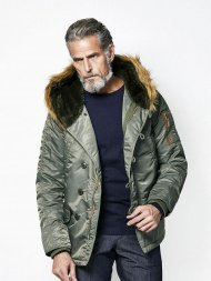 junhashimoto/SHAWL COLLAR N-3B(KHAKI)<img class='new_mark_img2' src='https://img.shop-pro.jp/img/new/icons24.gif' style='border:none;display:inline;margin:0px;padding:0px;width:auto;' />