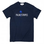 PALM/STRIPES LOGO TEE 2<img class='new_mark_img2' src='https://img.shop-pro.jp/img/new/icons1.gif' style='border:none;display:inline;margin:0px;padding:0px;width:auto;' />