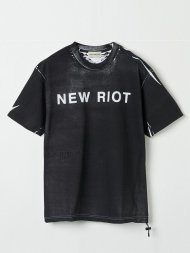 Forsomeone/NEW RIOT S T(BLACK)<img class='new_mark_img2' src='https://img.shop-pro.jp/img/new/icons50.gif' style='border:none;display:inline;margin:0px;padding:0px;width:auto;' />