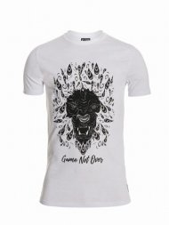 Mr.Lenoir/TEE SHIRT EBONY LION<img class='new_mark_img2' src='https://img.shop-pro.jp/img/new/icons1.gif' style='border:none;display:inline;margin:0px;padding:0px;width:auto;' />