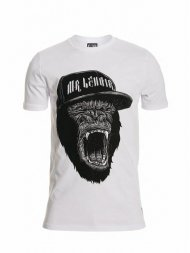 Mr.Lenoir/TEE SHIRT FUMMING GORILLA<img class='new_mark_img2' src='https://img.shop-pro.jp/img/new/icons1.gif' style='border:none;display:inline;margin:0px;padding:0px;width:auto;' />