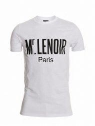 Mr.Lenoir/TEE SHIRT MLP LOGO BLANC<img class='new_mark_img2' src='https://img.shop-pro.jp/img/new/icons24.gif' style='border:none;display:inline;margin:0px;padding:0px;width:auto;' />