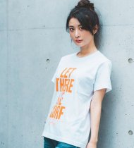 MARBLES/LET THERE BE SURF TEE / WHITE × ORANGE<img class='new_mark_img2' src='https://img.shop-pro.jp/img/new/icons1.gif' style='border:none;display:inline;margin:0px;padding:0px;width:auto;' />