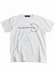 MARBLES/NOISE TEE / WHITE<img class='new_mark_img2' src='https://img.shop-pro.jp/img/new/icons1.gif' style='border:none;display:inline;margin:0px;padding:0px;width:auto;' />