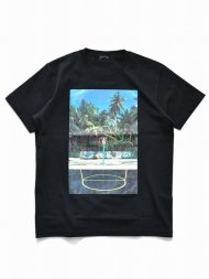 MARBLES/YF SHOOT ISLAND TEE / BLACK<img class='new_mark_img2' src='https://img.shop-pro.jp/img/new/icons1.gif' style='border:none;display:inline;margin:0px;padding:0px;width:auto;' />