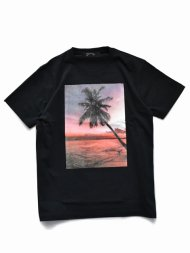 MARBLES/YF SHOOT SUNSET PALMTREE TEE / BLACK<img class='new_mark_img2' src='https://img.shop-pro.jp/img/new/icons1.gif' style='border:none;display:inline;margin:0px;padding:0px;width:auto;' />
