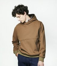Junhashimoto2020AW/NUKUMORI HOODIE(CAMEL)<img class='new_mark_img2' src='https://img.shop-pro.jp/img/new/icons1.gif' style='border:none;display:inline;margin:0px;padding:0px;width:auto;' />