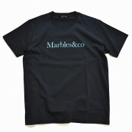 MARBLES/MARBLES&CO TEE/BLACK<img class='new_mark_img2' src='https://img.shop-pro.jp/img/new/icons1.gif' style='border:none;display:inline;margin:0px;padding:0px;width:auto;' />
