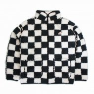 VANS/Sherpa Zip Jacket(CHECKER)<img class='new_mark_img2' src='https://img.shop-pro.jp/img/new/icons1.gif' style='border:none;display:inline;margin:0px;padding:0px;width:auto;' />
