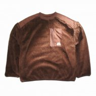 VANS/Sherpa Crew Tops(BROWN)<img class='new_mark_img2' src='https://img.shop-pro.jp/img/new/icons24.gif' style='border:none;display:inline;margin:0px;padding:0px;width:auto;' />