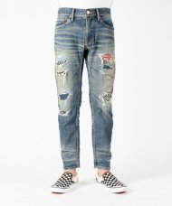 TMT2021SS/STRETCH DENIM 5P CROPPED TAPERED (DAMAGE RIPAIR)<img class='new_mark_img2' src='https://img.shop-pro.jp/img/new/icons1.gif' style='border:none;display:inline;margin:0px;padding:0px;width:auto;' />
