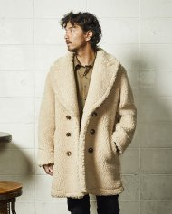 TMT2020AW/GRIZZLY BOA RANCH COAT(Beige)<img class='new_mark_img2' src='https://img.shop-pro.jp/img/new/icons50.gif' style='border:none;display:inline;margin:0px;padding:0px;width:auto;' />