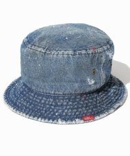 TMT2021SS/VINTAGE DENIM HAT<img class='new_mark_img2' src='https://img.shop-pro.jp/img/new/icons1.gif' style='border:none;display:inline;margin:0px;padding:0px;width:auto;' />