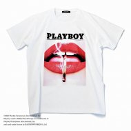 MARBLES/PLAY BOY S/SL TEE 05 / WHITE<img class='new_mark_img2' src='https://img.shop-pro.jp/img/new/icons1.gif' style='border:none;display:inline;margin:0px;padding:0px;width:auto;' />
