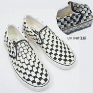 VANS/USA企画  CLASSIC SLIP-ON UV INK/TRUE WHITE