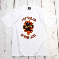 SC-SubCulture-/PUT YOUR ASS ON SOME CLASS T-SHIRT(WHITE)<img class='new_mark_img2' src='https://img.shop-pro.jp/img/new/icons1.gif' style='border:none;display:inline;margin:0px;padding:0px;width:auto;' />