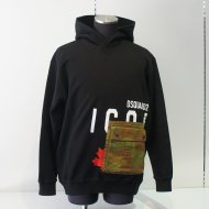 Dsquared2/21AW Icon Cargo Pocket Hoodie<img class='new_mark_img2' src='https://img.shop-pro.jp/img/new/icons24.gif' style='border:none;display:inline;margin:0px;padding:0px;width:auto;' />