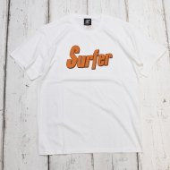 SC-SubCulture-/SURFER T-SHIRT(WHITE/ORANGE)<img class='new_mark_img2' src='https://img.shop-pro.jp/img/new/icons1.gif' style='border:none;display:inline;margin:0px;padding:0px;width:auto;' />