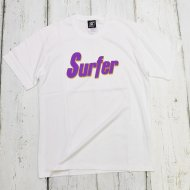 SC-SubCulture-/SURFER T-SHIRT(WHITE/PURPLE)<img class='new_mark_img2' src='https://img.shop-pro.jp/img/new/icons1.gif' style='border:none;display:inline;margin:0px;padding:0px;width:auto;' />