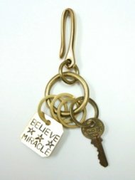 【B.I.MIRACLE】NEW別注PRISON  BELIEVE☆☆☆MIRACLE  KEYHOLDER (small)