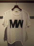 M / short sleeve vintage style  t-shirts (wjk by M/MW)(white)��