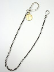 (受注生産)【B.I.MIRACLE】S HOOK WALLETCHAIN