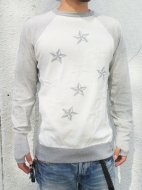AS STANDARD×INSONNIAアズスタンダード×インソニアSTAR KNIT(WHITE)<img class='new_mark_img2' src='//img.shop-pro.jp/img/new/icons50.gif' style='border:none;display:inline;margin:0px;padding:0px;width:auto;' />