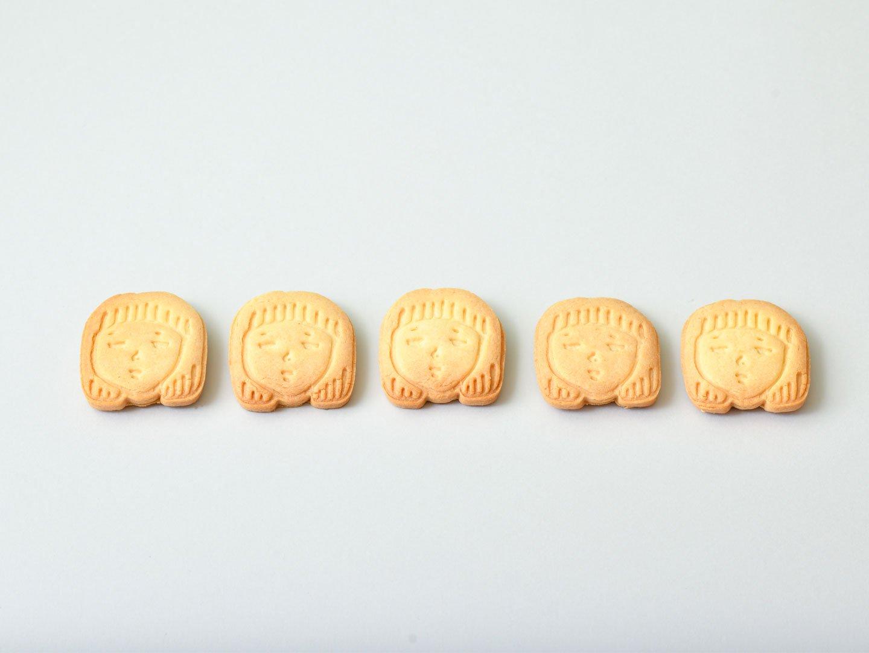 かおクッキー