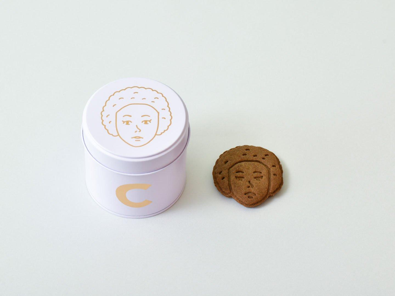かおクッキー(チャイ味/C缶)