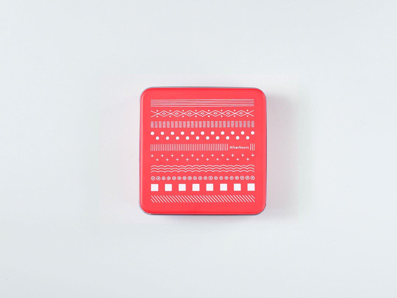 クッキー缶(赤缶)