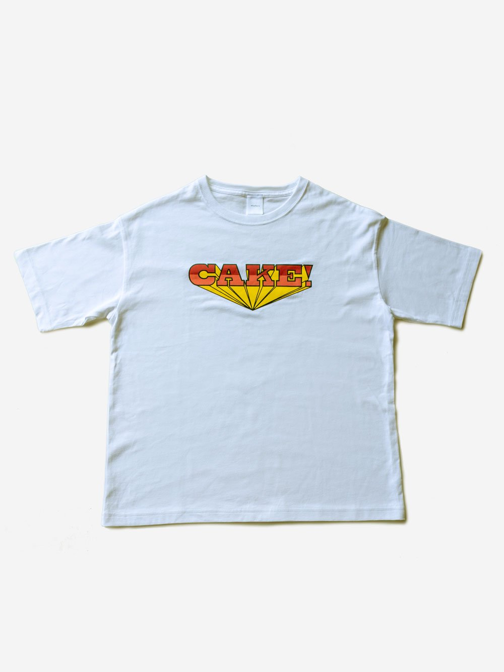 T-Shirt「CAKE!」<img class='new_mark_img2' src='https://img.shop-pro.jp/img/new/icons8.gif' style='border:none;display:inline;margin:0px;padding:0px;width:auto;' />