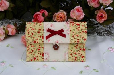 小花カードケース