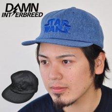 """INTERBREED STAR WARS""""Denim Logo Cap""""キャップ IB17SS-CAP14"""