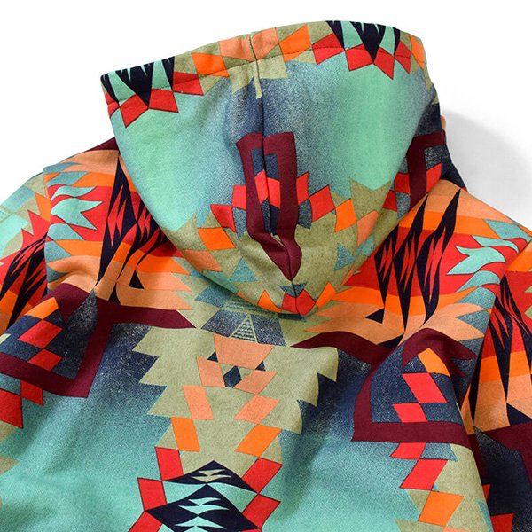 71f57ffefaeb ネイティブ ラファイエット パーカー マルチカラー LAFAYETTE Native Pattern Logo Pullover Sweatshirt  LFT18SS021 スウェット