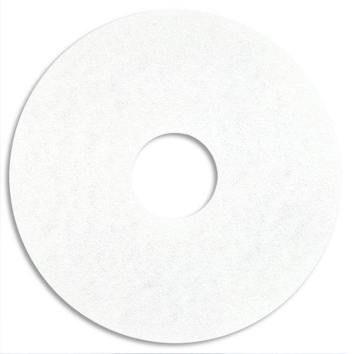 3M ホワイトスーパーポリッシュパッド 13インチ×5枚